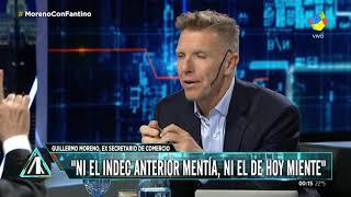 """Moreno sobre Macri: """"No tiene la cabeza de un emprendedor, sino de un rentista oligarca"""""""