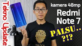 Kamera 48MP Redmi Note 7 PALSU ??