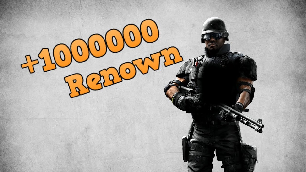 *FULLY AFK* How To Farm INFINITE AFK Renown PS4 - Rainbow