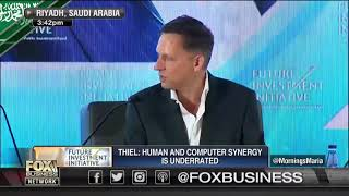 """Peter Theil """"People are under estimating Bitcoin"""""""