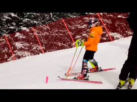 Mikaela Shiffrin at Loveland Ski Area. 01/03/206