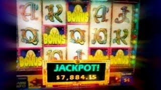 5 Scatters Cleopatra II  - Jackpot 52,000 x line Bet (x3)credits on  IGT Slot