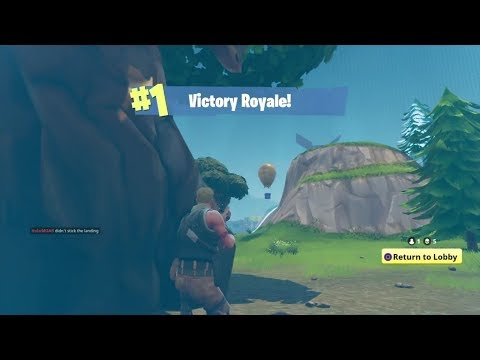 GRAVITY VICTORY KILL / Fortnite Battle Royale (PS4)