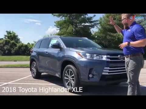 2018 Toyota Highlander XLE V6, For Sale, Oxmoor Toyota, Louisville KY 40222
