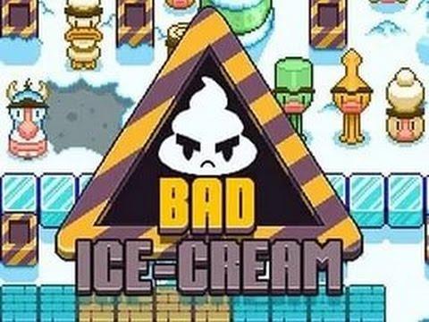 Прохождение игры Плохое Мороженое 1 (Все уровни)