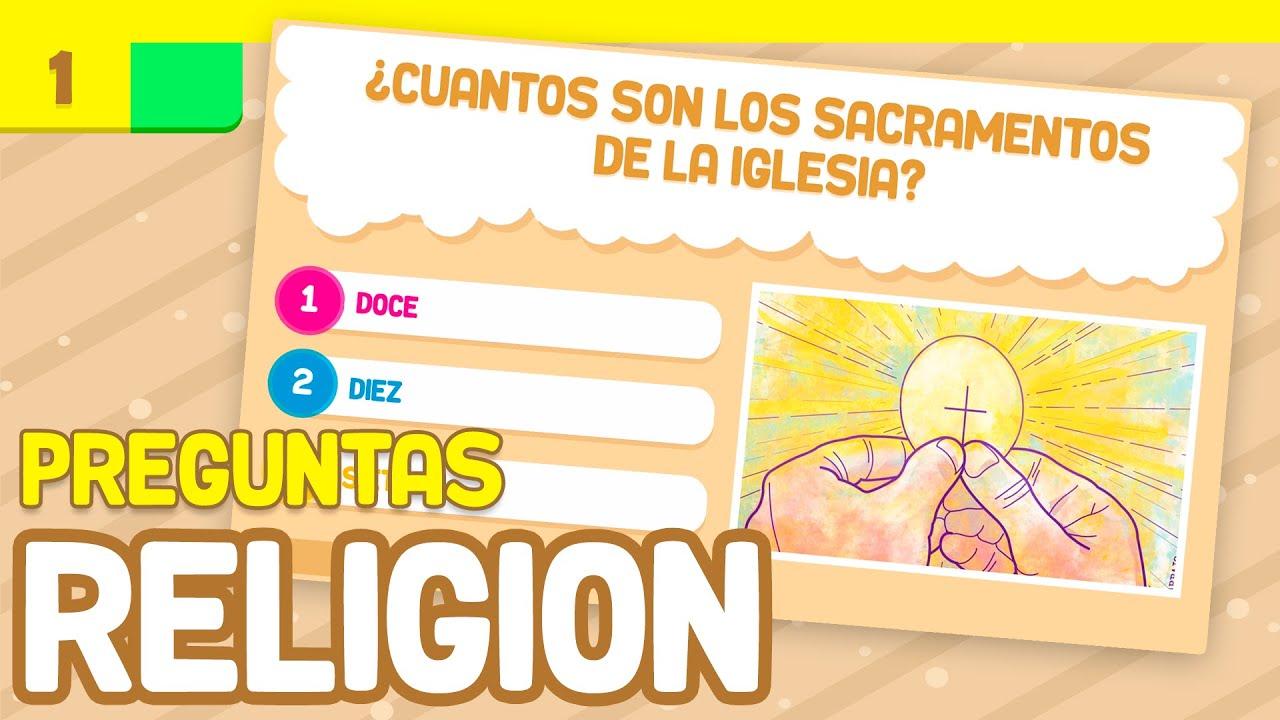 20 Preguntas Sobre Religion Catecismo Preguntas Y Respuestas Estudiar La Catequesis Bazum Youtube