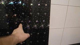 Звездный потолок в ванне из зеркал ч 1