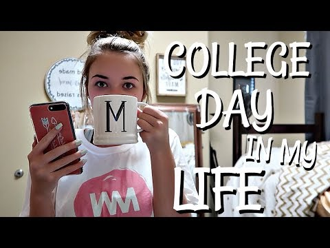 COLLEGE DAY IN MY LIFE | Chill Monday