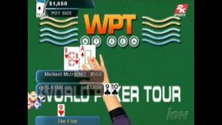 World Poker Tour PlayStation 2 Gameplay - Special Feature
