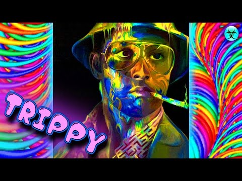 Your Brain on MDMA Trippy Psychedelic Visuals - Hallucination Mind Blowing 3D Video 2016 hd
