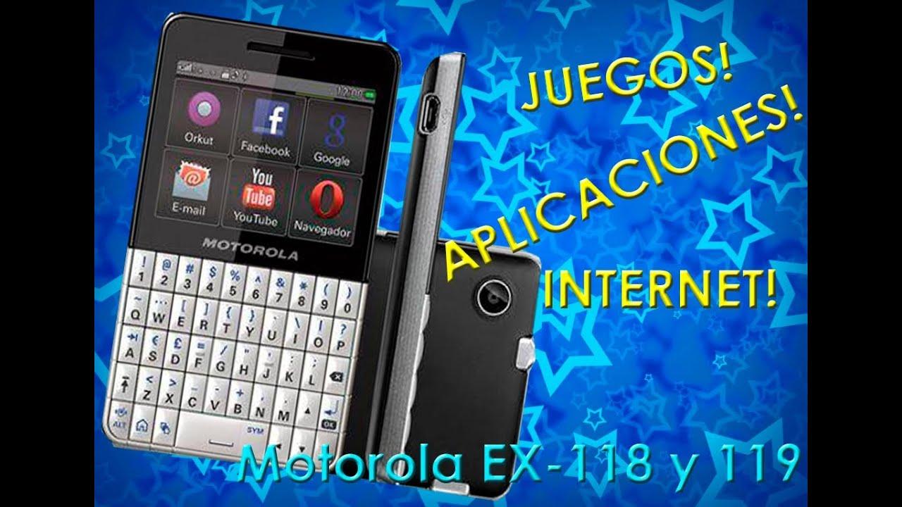 messenger para celular motorola ex119