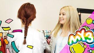 Jak zrobić Kłosa - Propozycja fryzury do szkoły i na WF 😍😍 My3 - TV dla Dzieci