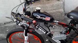 Video motorized bike Sepeda castem pake mesin download MP3, 3GP, MP4, WEBM, AVI, FLV September 2018