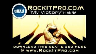 Uplifting Rap Beat with HOOK by Anna - My Victory (RockItPro.com)