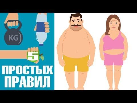 5 простых правил чтобы ПОХУДЕТЬ | похудеть | рельеф | сушка