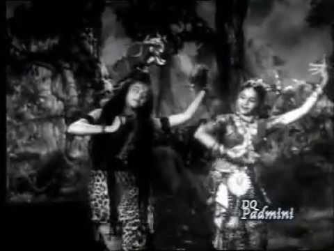 Lalitha Padmini's first tamil film Kannika 1947