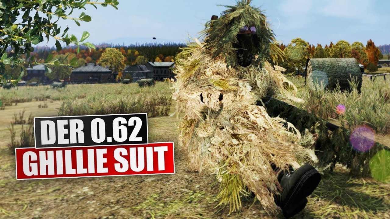 how to make a ghillie suit in dayz