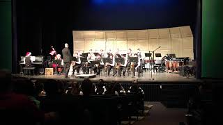 Westview High School Winter Concert 2018 Jazz Band - A Charlie Brown Christmas