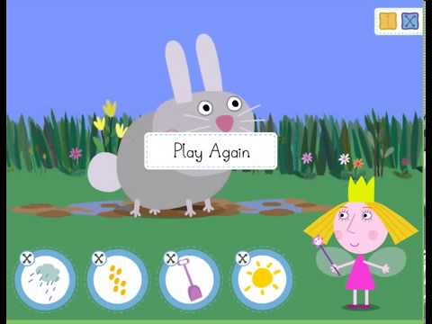 ben and holly s little kingdom magical garden new game episode 2013