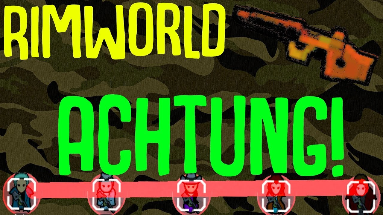 Achtung! Mass Orders, Proper Positioning! Rimworld Mod Showcase!