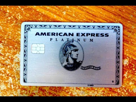 Unboxing New AMERICAN EXPRESS PLATINUM metal card