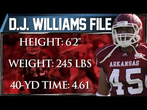 D.J. Williams Draft Profile