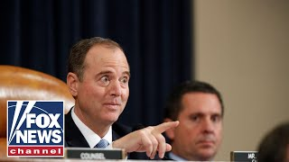 Watch Schiff try to instruct Taylor on answering GOP's question