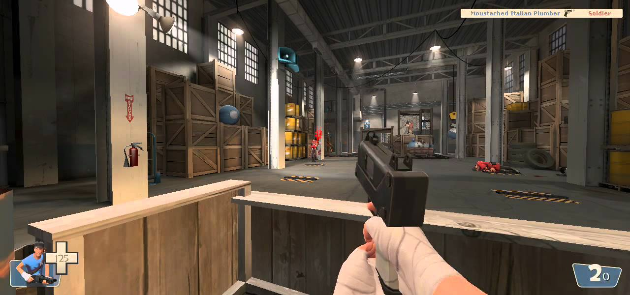TF2 Mod Weapon Demonstration: The Little Mac (Scout) - YouTube