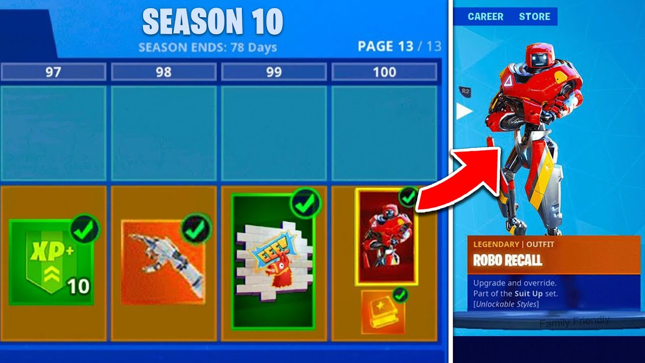 Fortnite Season 10 LEAKED! Battle Pass, Trailer ...