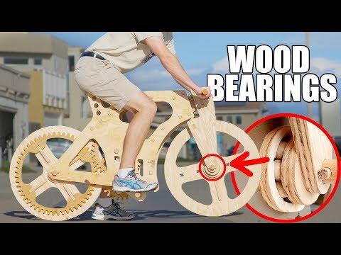 ALL WOOD BIKE - Will It Survive?