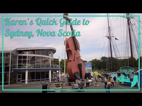 Karen's Quick Guide To Sydney, Nova Scotia