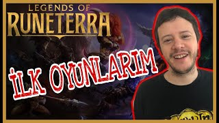 Gambar cover [Legends of Runeterra] İlk oyunlarım