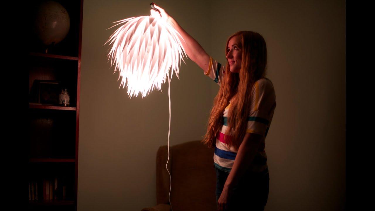 Quirky DIY Hanging Lamp