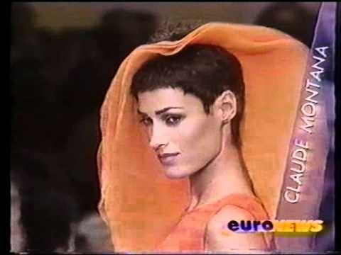 Yasmin Le Bon fashion shows 1993-1994