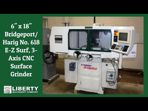 618 E Z Surf 3 Axis Cnc Surface Grinder You