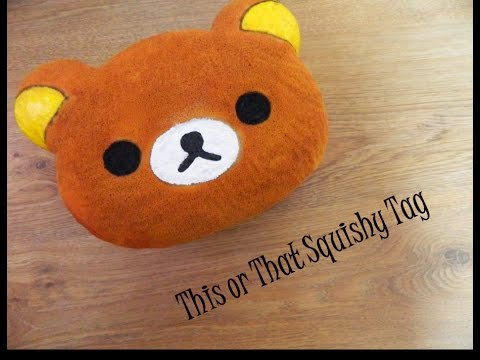 Squishy Tag This Or That : This or That Squishy Tag (with homemade squishies) - YouTube