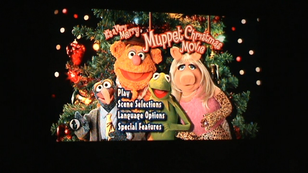 Opening to It's A Very Merry Muppet Christmas Movie UK DVD (2003 ...