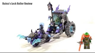 Lego Nexo Knights Ruina's Lock and Roller Review 70349 (2017)