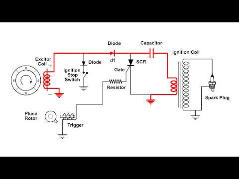 Cdi Ignition Schematic  All Diagram Schematics