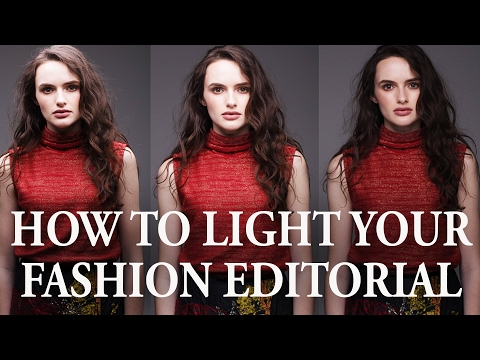 How to Light Your Fashion Editorial With 1 Softbox Only - Image Examples