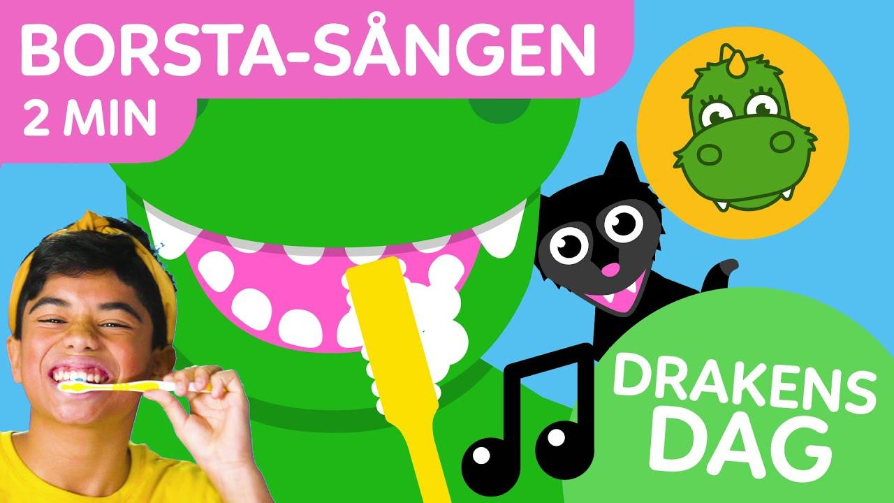 Download Bolibompa Baby: DRAKENS DAG: Borsta-sången