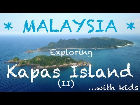 Malaysia's best kept secret -- Kapas Island | Malaysia 2017 | Travel Vlog