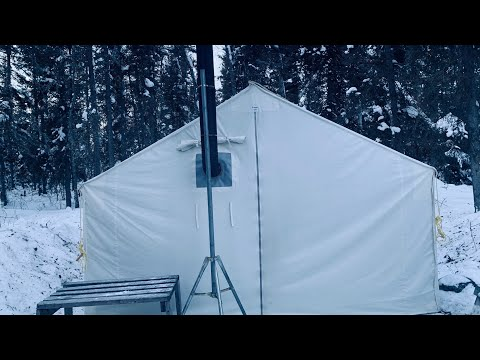 -33c Camping Winter Wall Tent