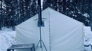 -33c Camping Winter Wąll Tent