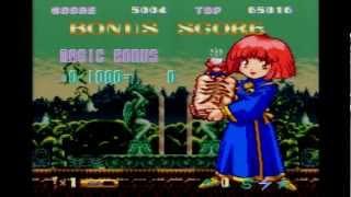 Cotton 100% Game play (Super Famicom)