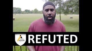 Hussein Exposed - Salafi Vs Ahmadi Muslim (Speakers Corner)