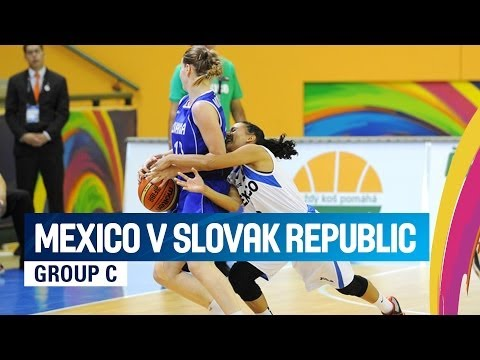 Mexico v Slovak Republic - Group C - 2014 FIBA U17 World Championship for women