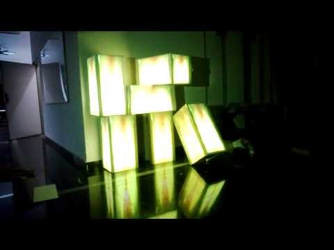 Audio Reactive Projection Mapping