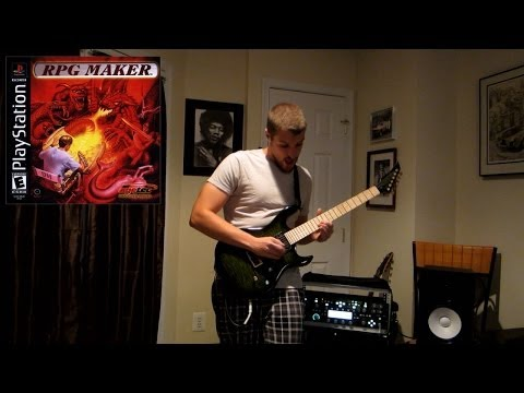RPG Maker (Playstation) Home 3 theme remix on guitar