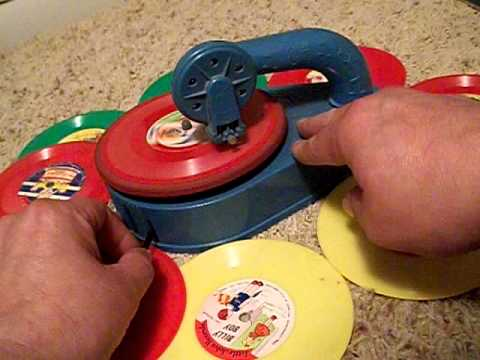 Toy Phonograph (Marx Lumar Wind Up Record Player)